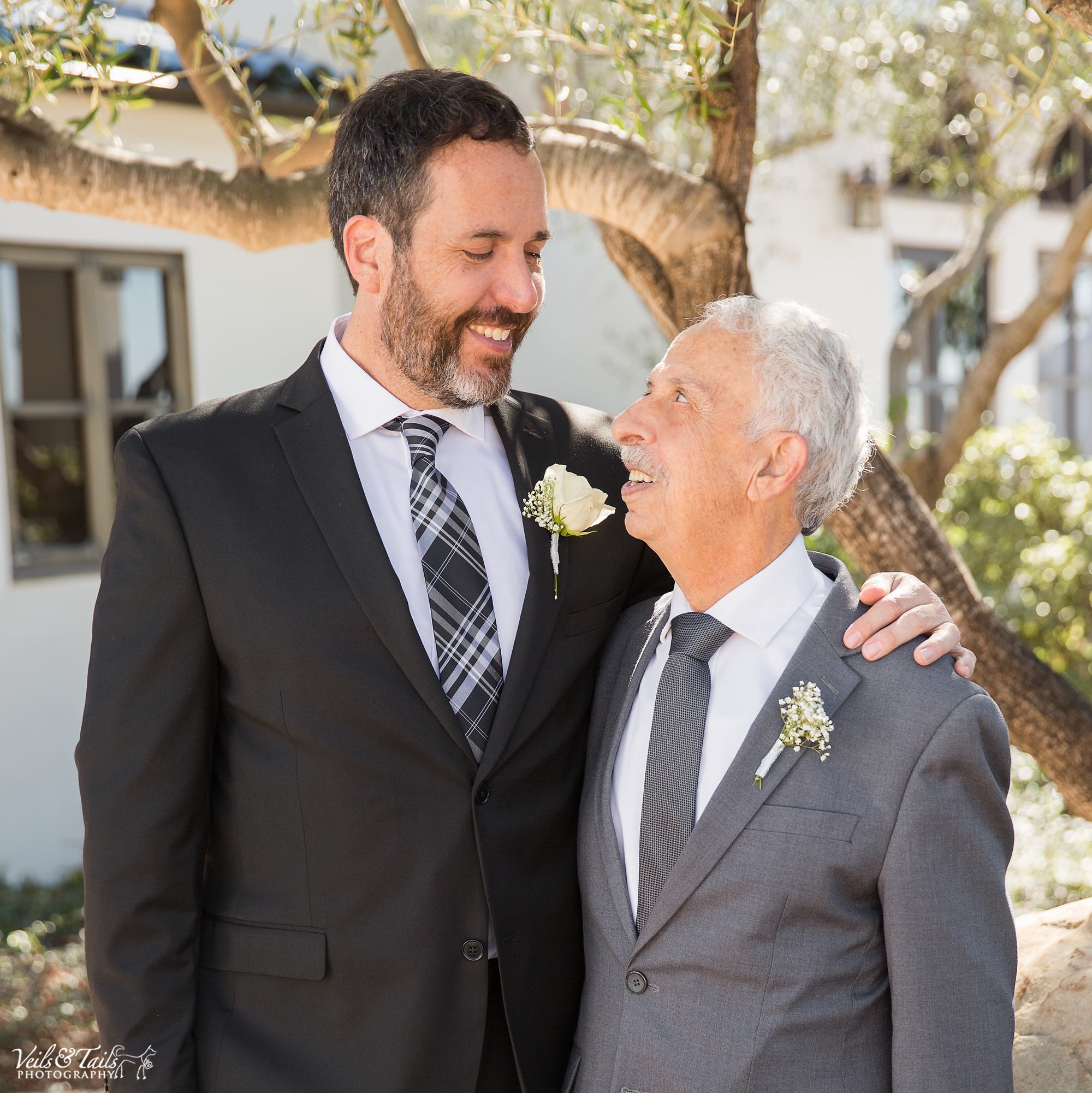 father and son wedding pictures