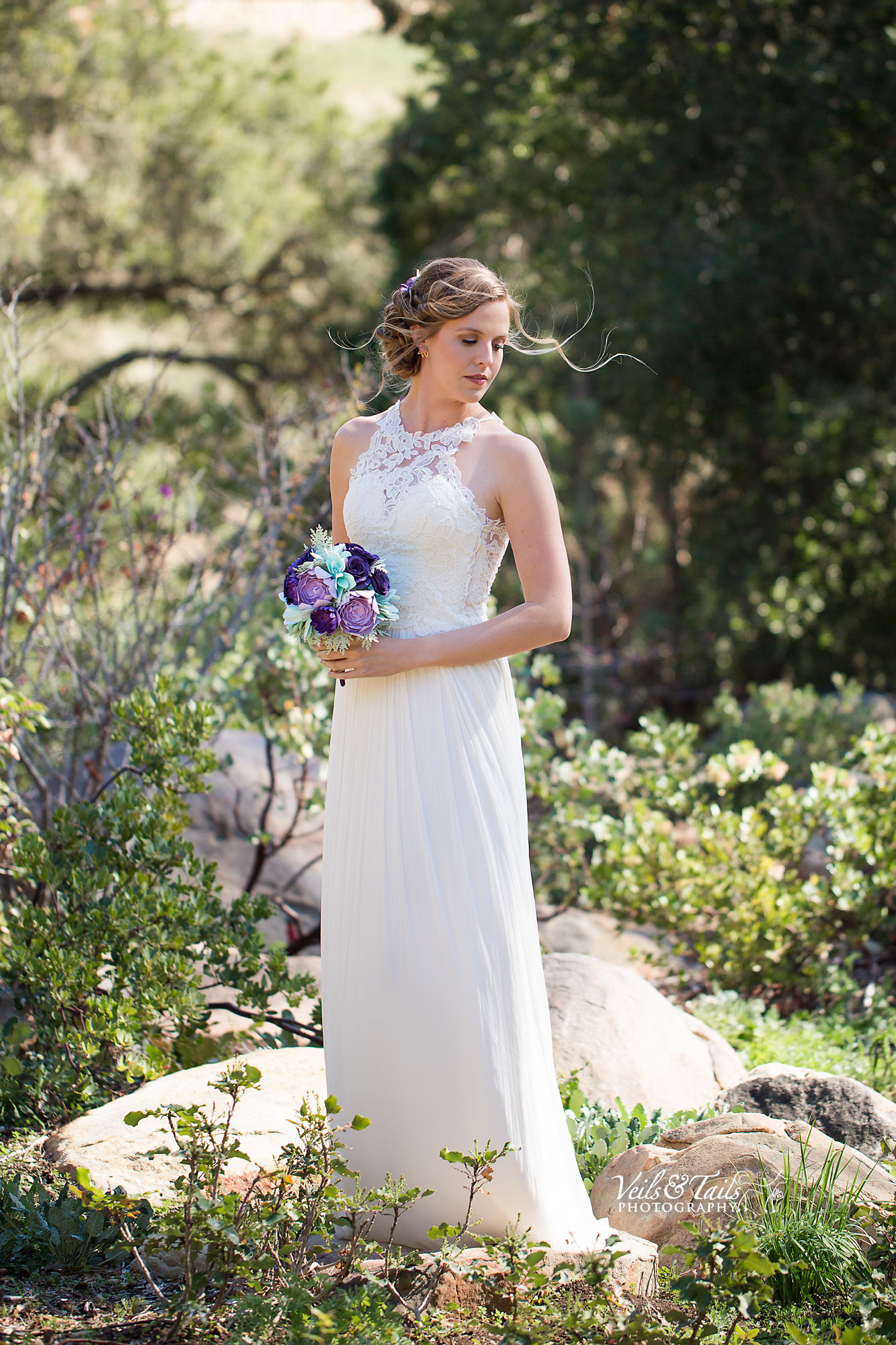 Santa Barbara Botanicals wedding photographer