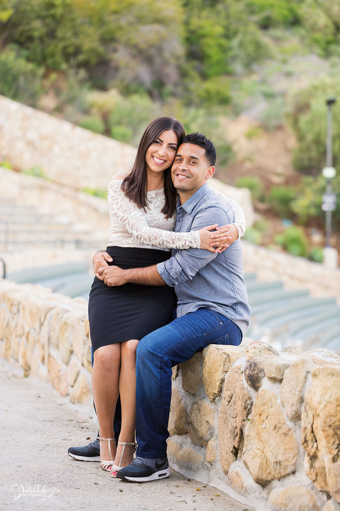 Amphitheater Engagement Session Photographer