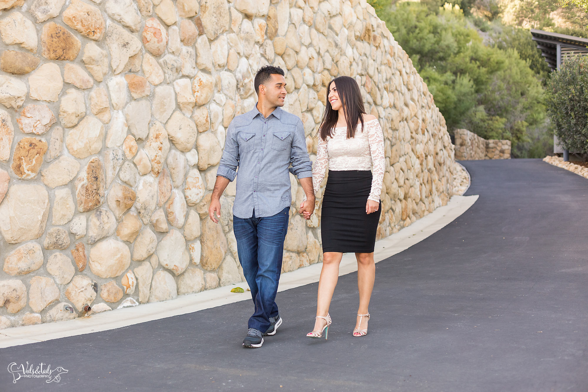 Santa Barbara Bowl Engagement Session