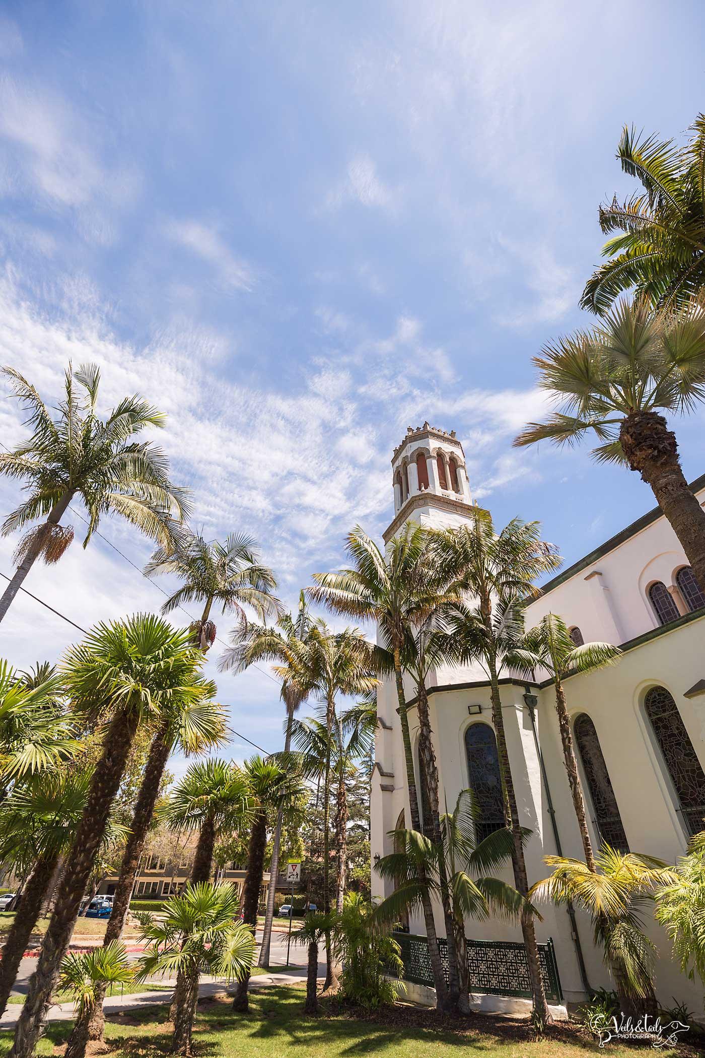 Our Lady of Sorrows Wedding Santa Barbara