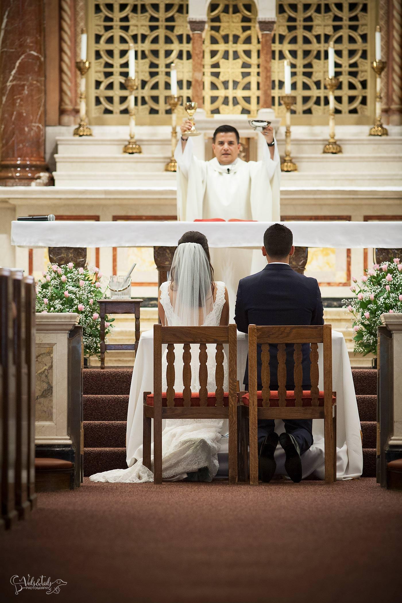 Santa Barbara Cathedral Wedding Photography