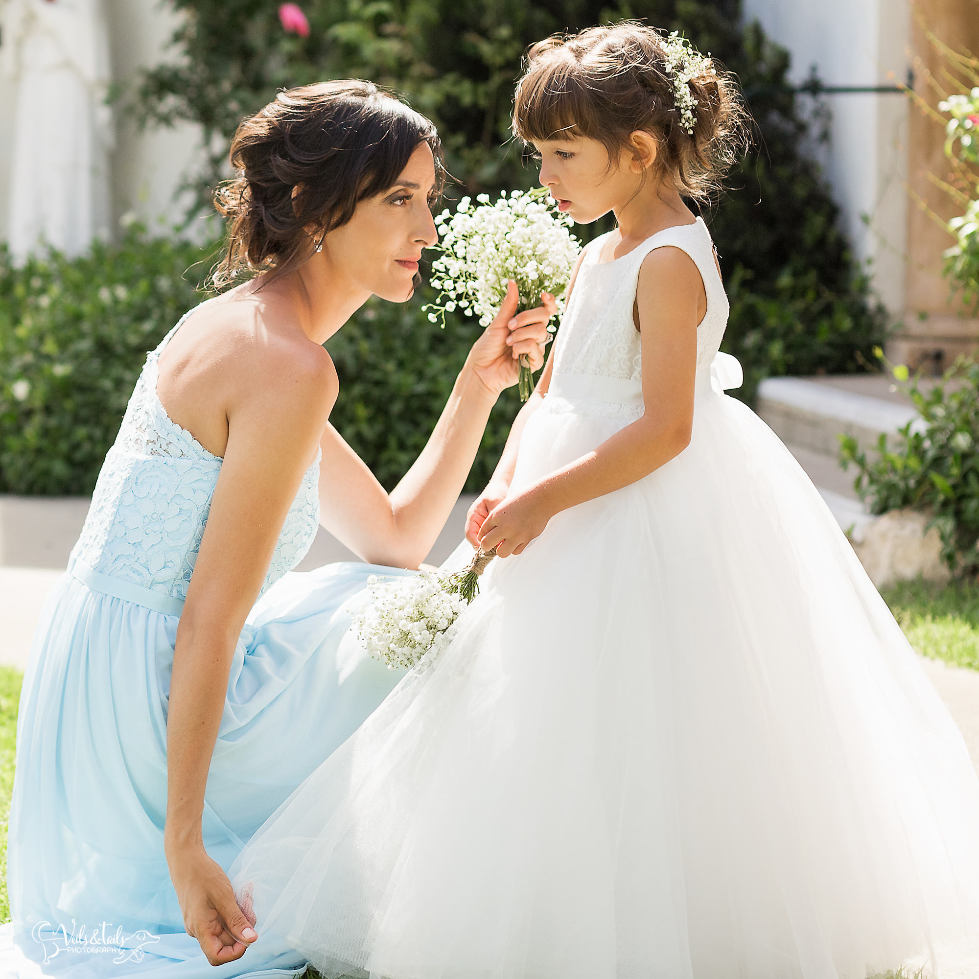 Flower Girl and Bridesmaid