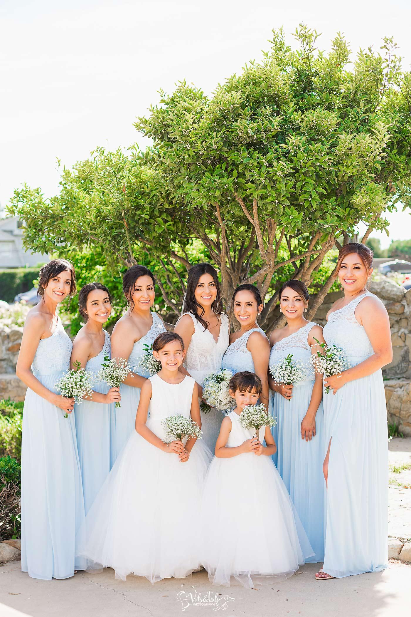 Bridal Party Santa Barbara Photographer