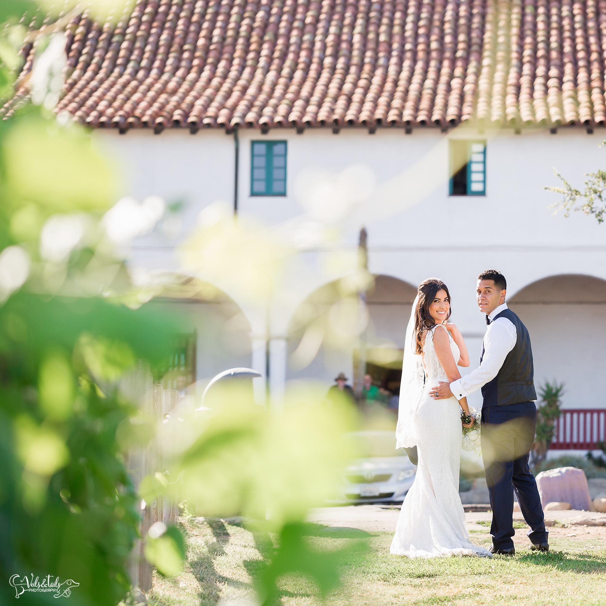Santa Barbara Mission Wedding Photography