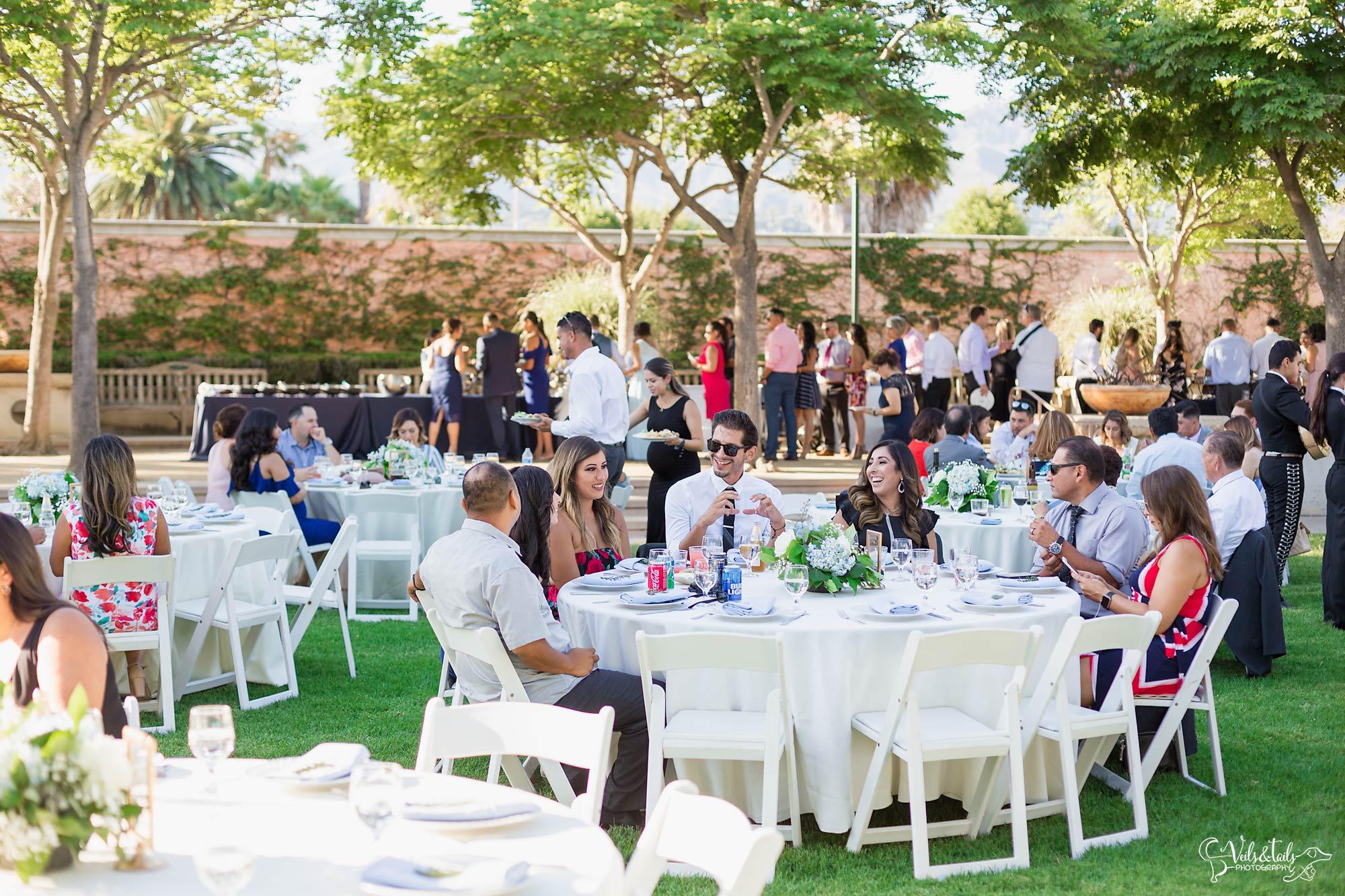 Chase Palm Park Wedding Reception