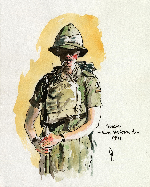 Soldier East African Div Watercolor.jpg