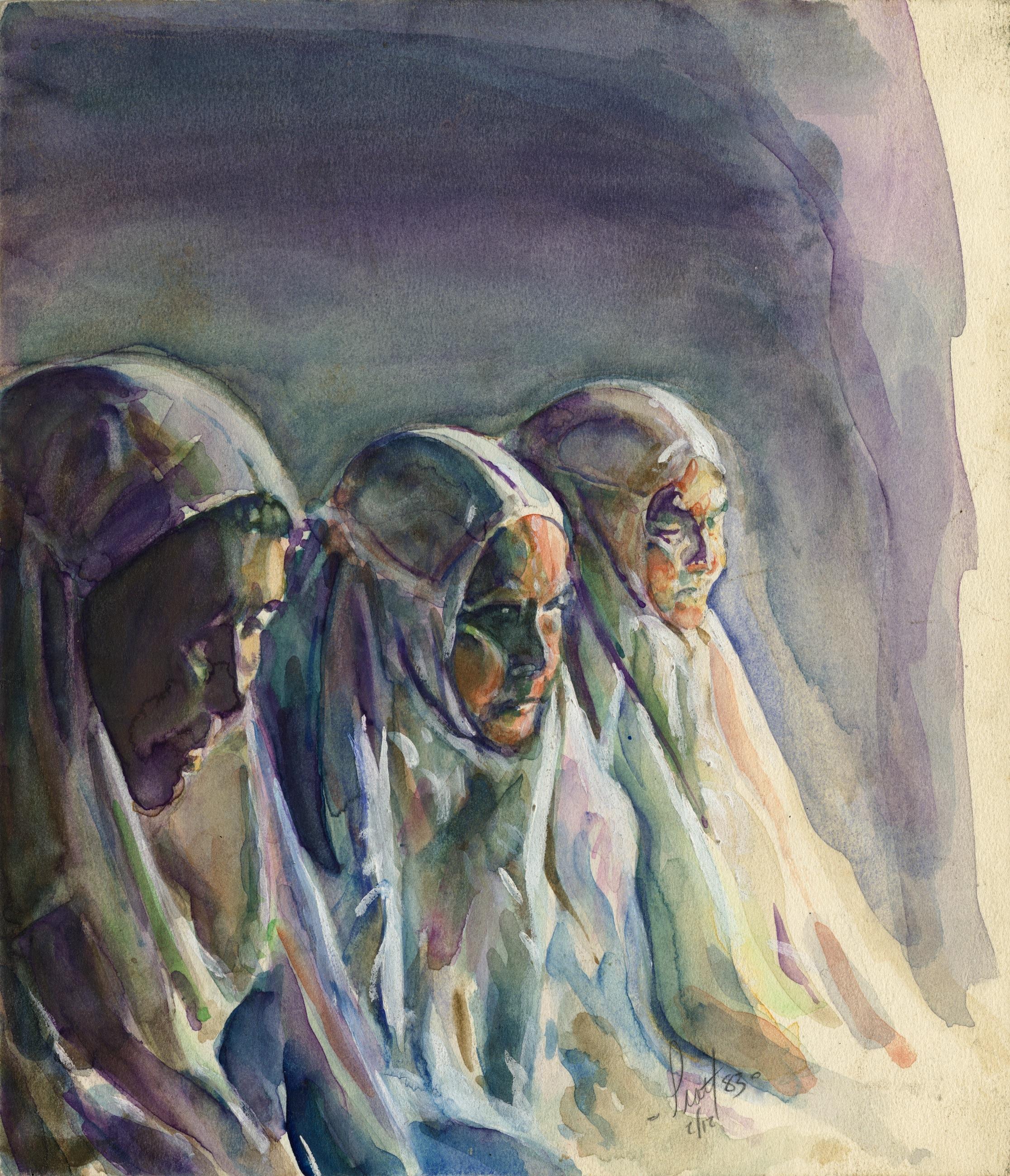 Ladies Praying Early Watercolor.jpg