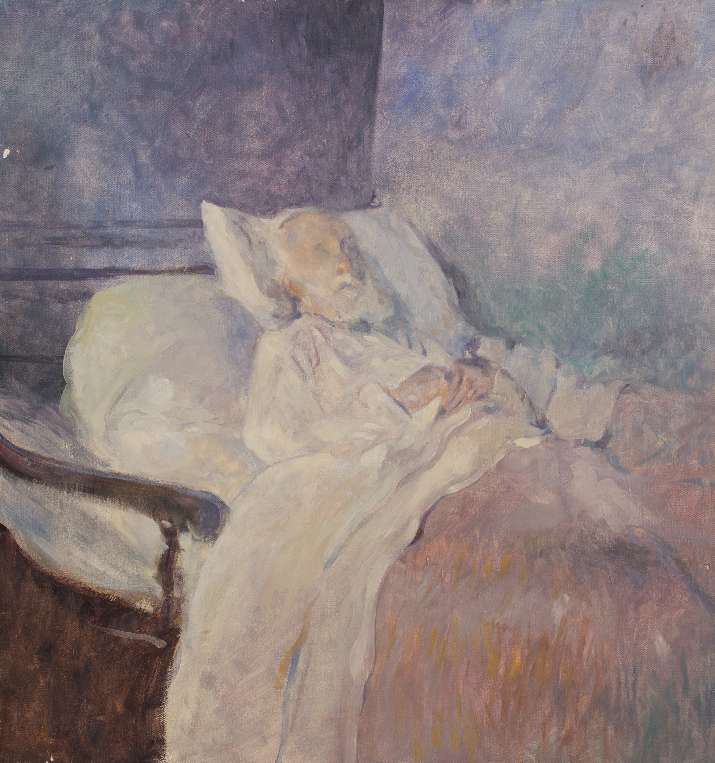 Degas on his deathbed