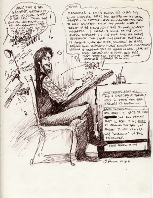 Click to view gallery of Scott Hampton Sketches