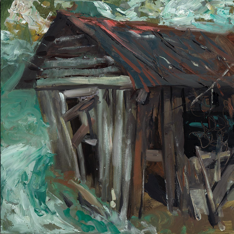 Bryan's Barn 1 - Oil - 12 x 12.jpg
