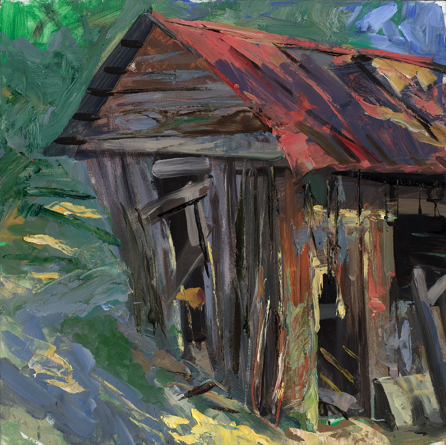 Bryan's Barn 2 - Oil - 12 x 12.jpg