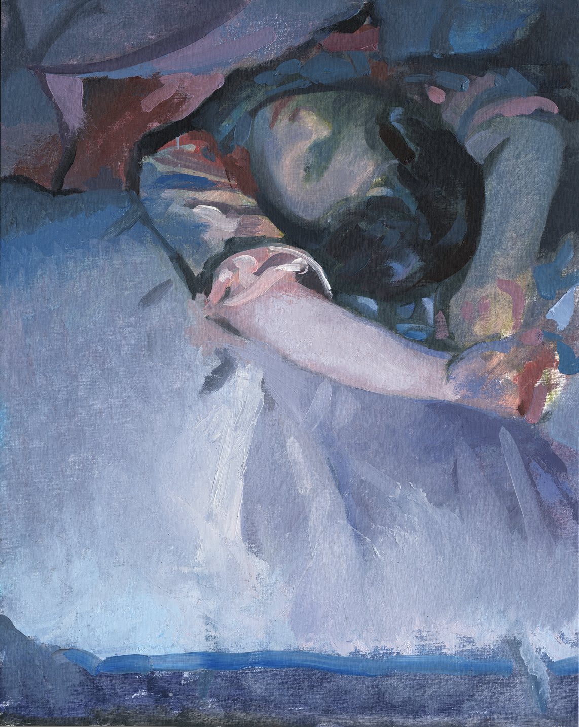 Mary Sleeps - Oil - 16 x 20.jpg