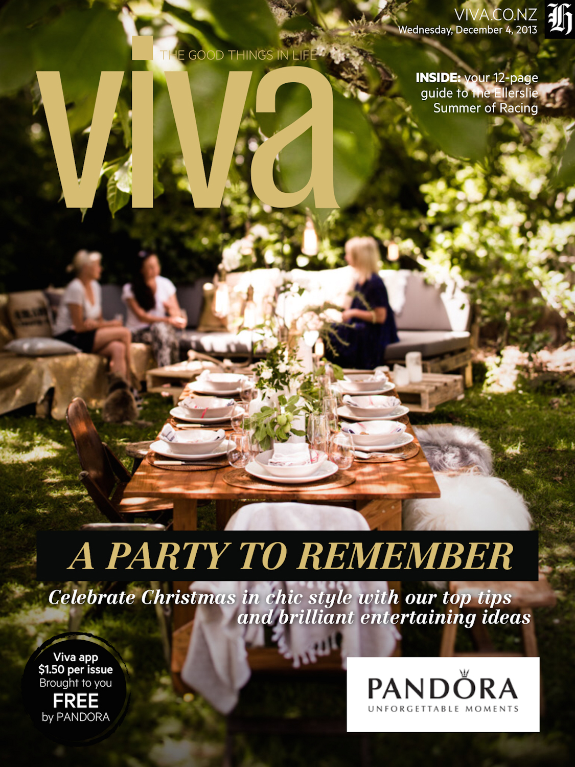 CHRISTMAS EDITION OF VIVA MAGAZINE