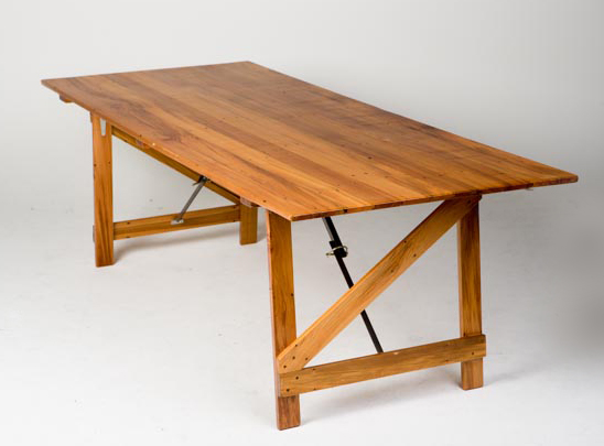 recycled rimu trestle table - 2200mm(L) x 900mm(W) x 700mm(H) -2.jpg