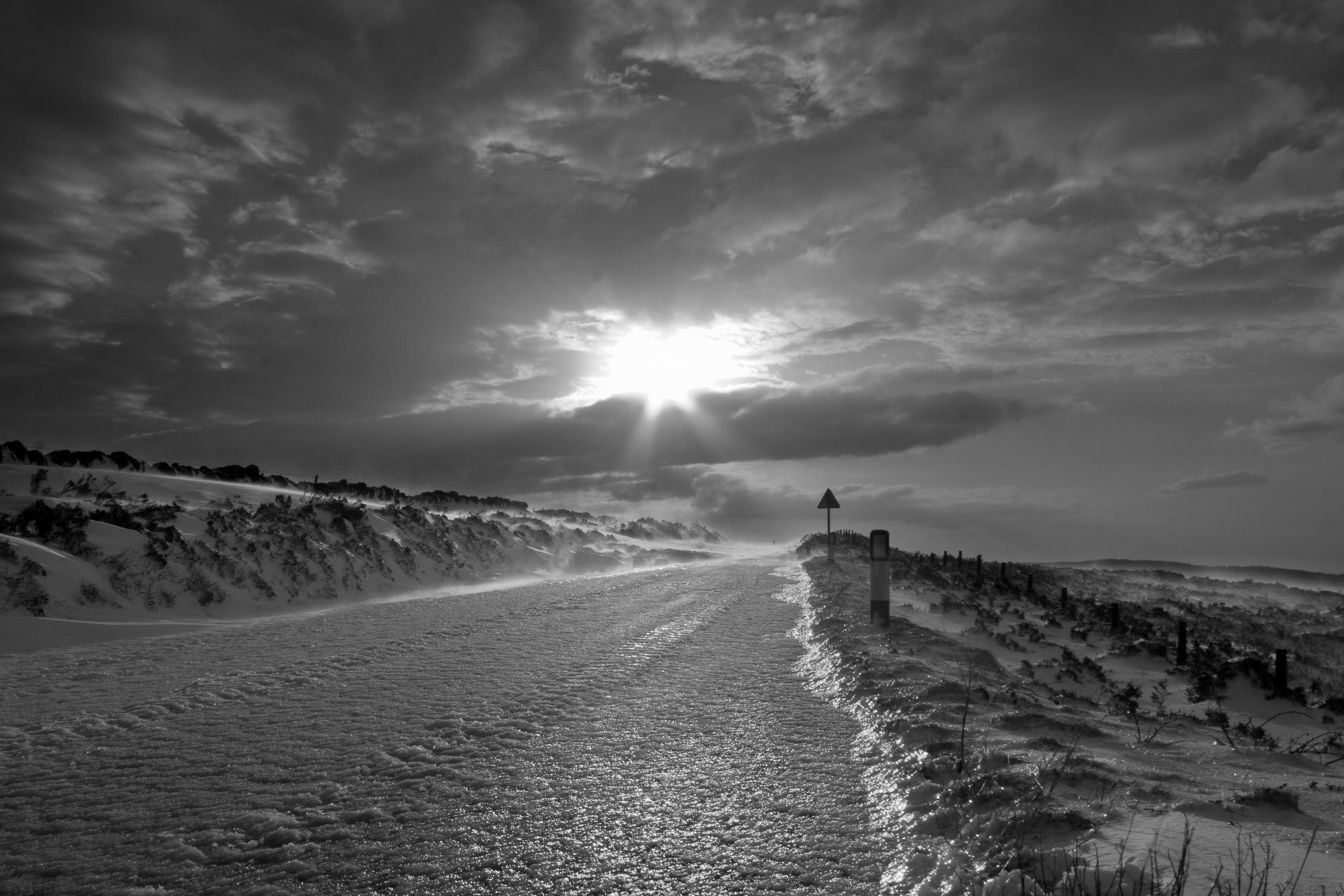 Frozen Road South Barrule