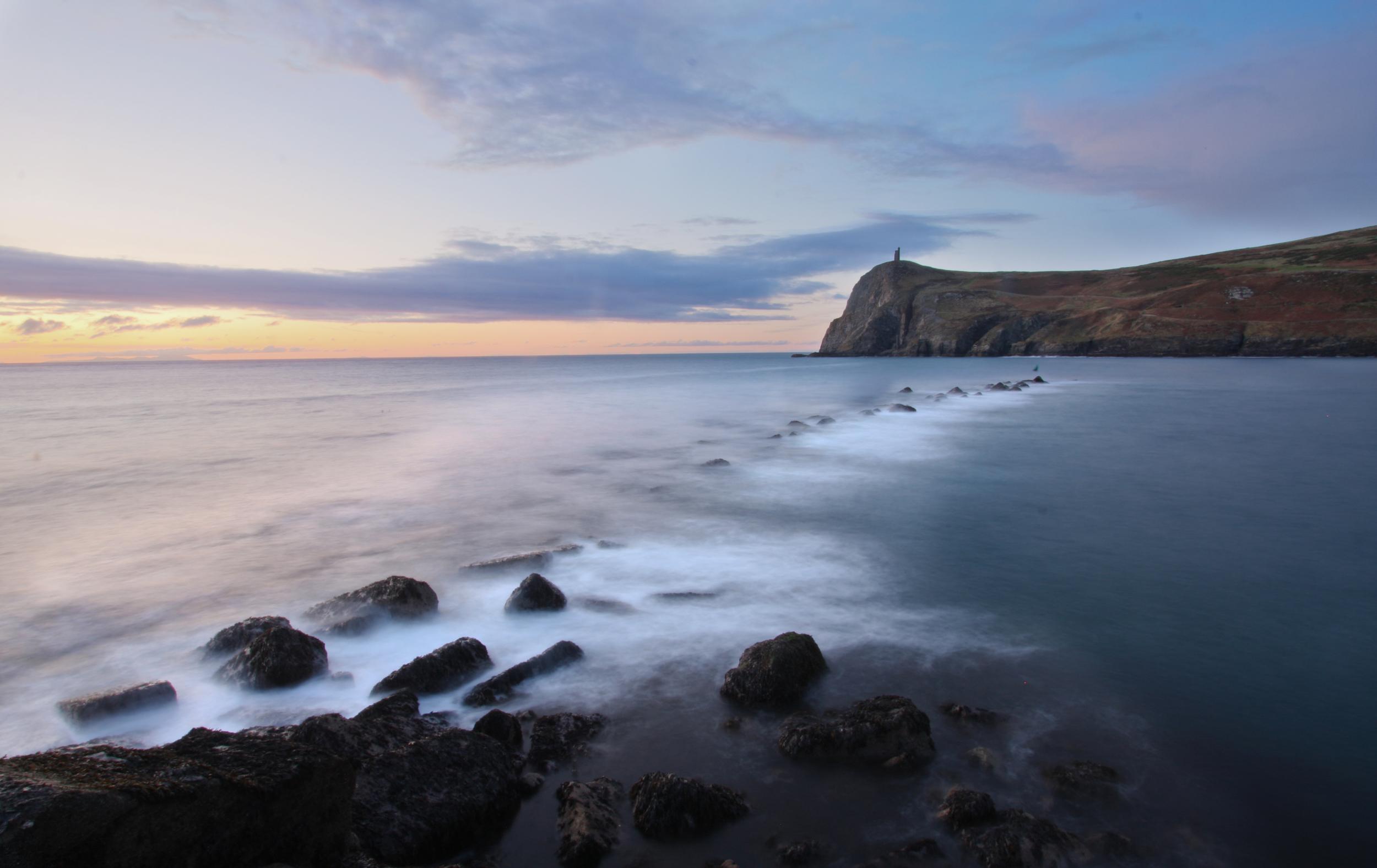 Bradda Head Isle of Man Twilight