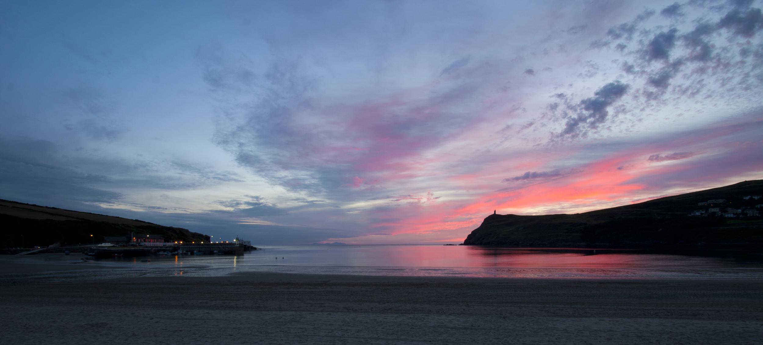 Twilight Pastel Sunset