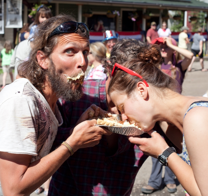 McCarthy Pie Eating Contest.