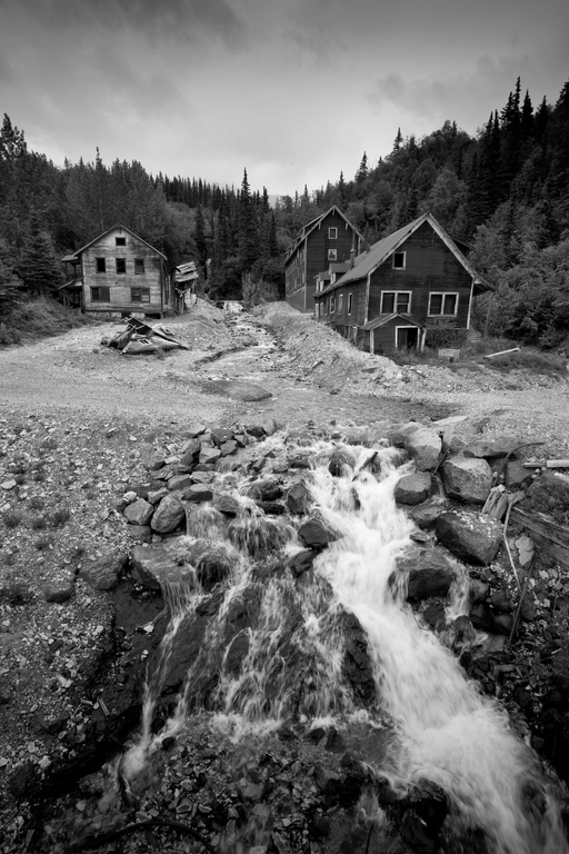 Old Copper Mining Ghost Town - Kennicott