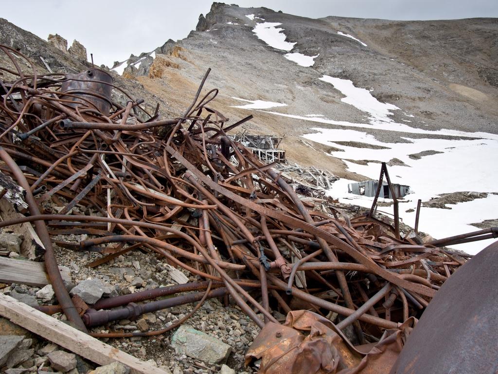 McCarthy Copper Mines