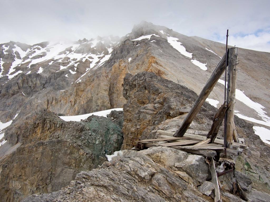 McCarthy Copper Mining Rig