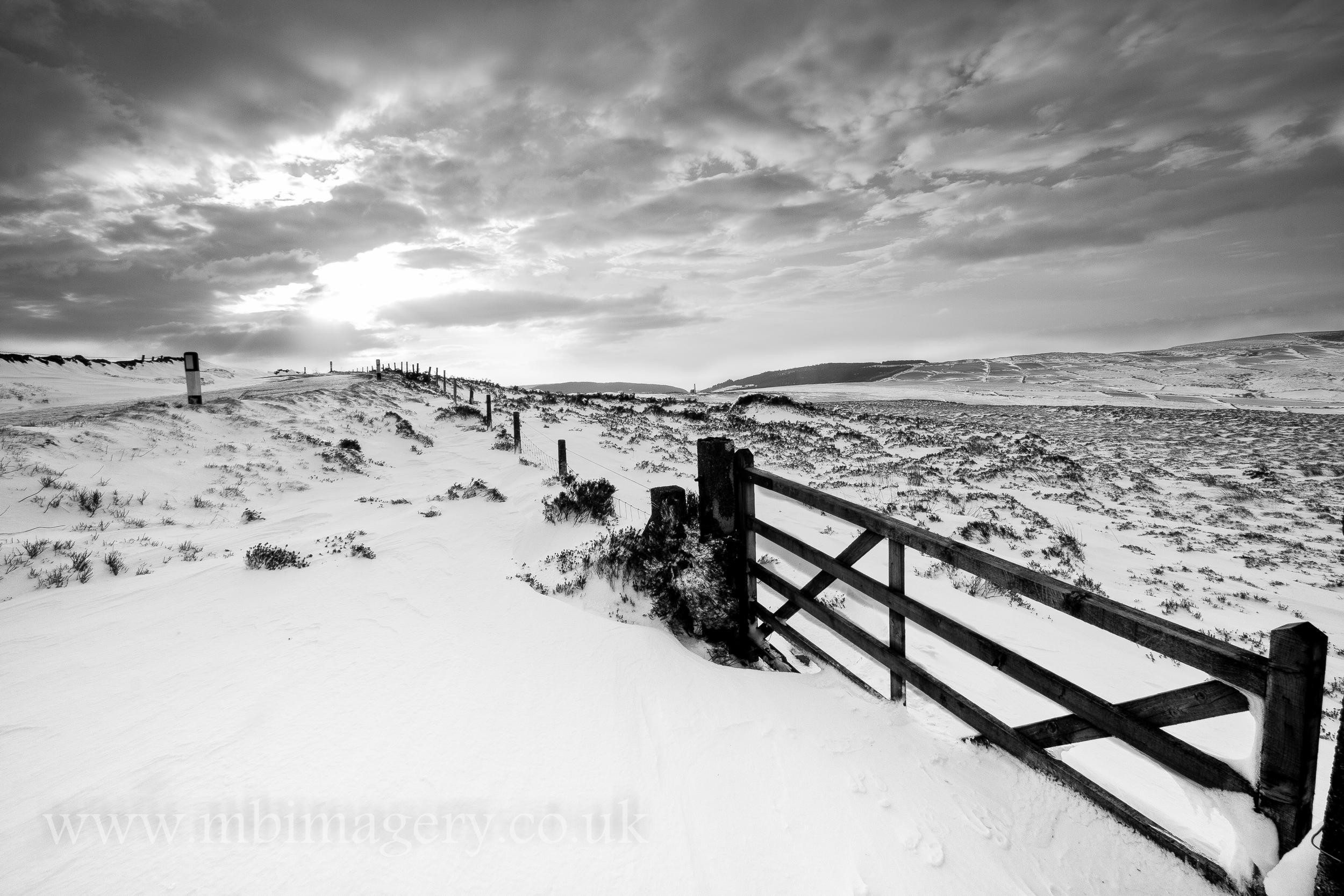 Glen Rushen Snow Storm