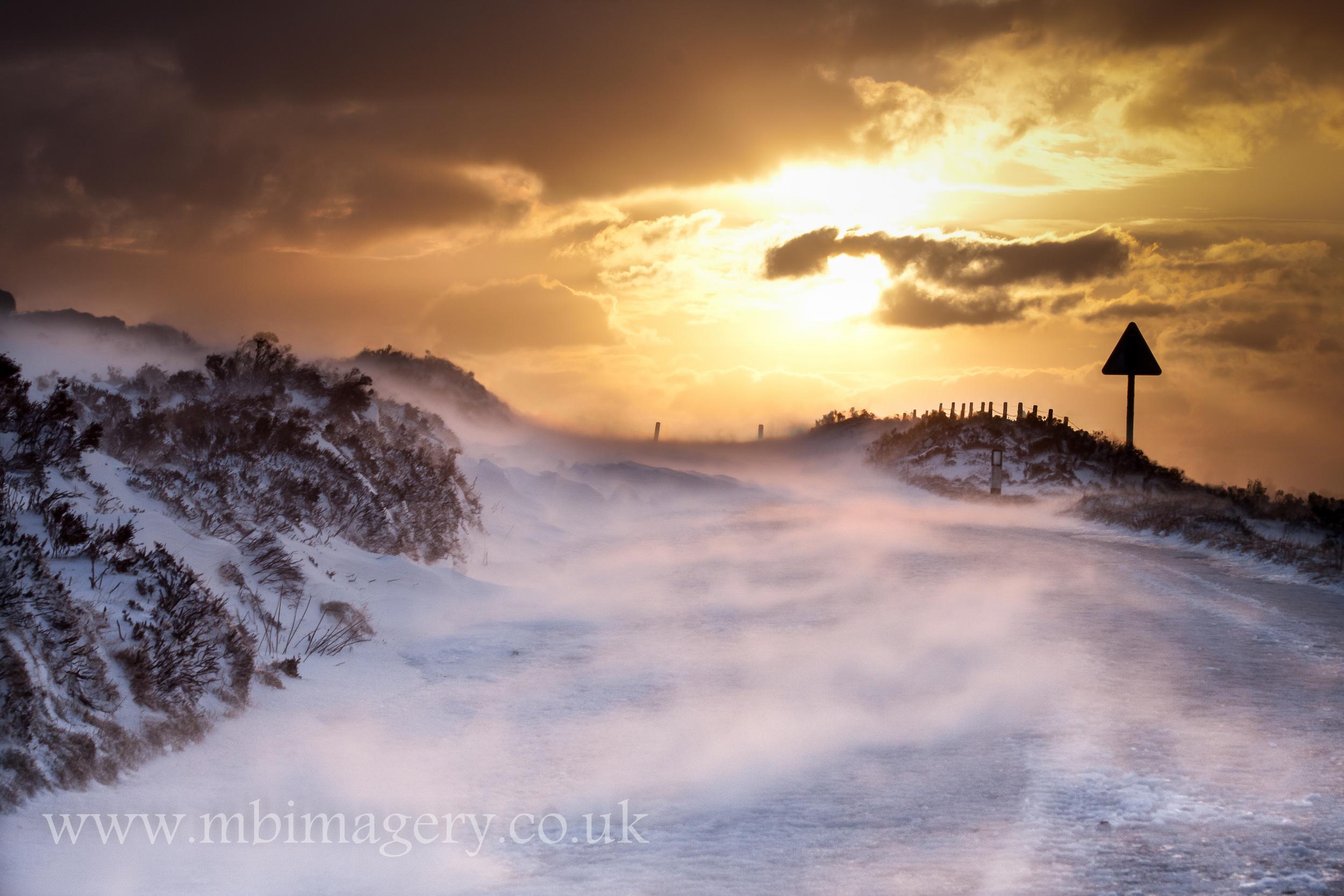 Wind Driven Snow, Barrule