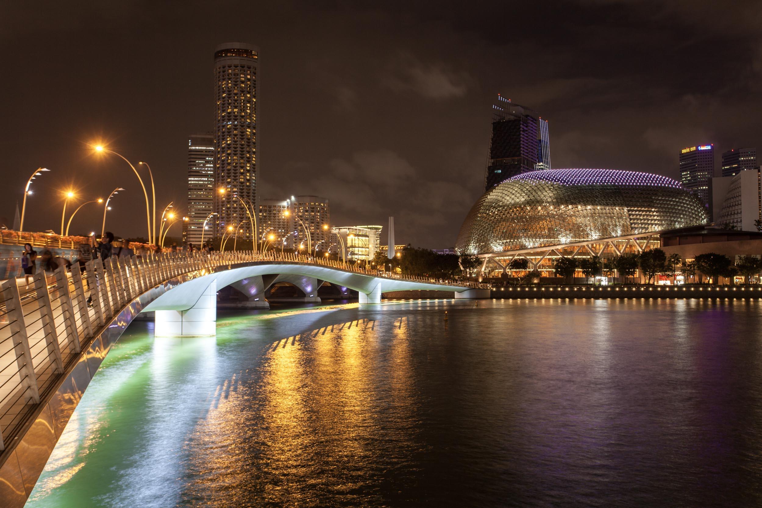 The Recently Opened Jubilee Pedestrian Bridge