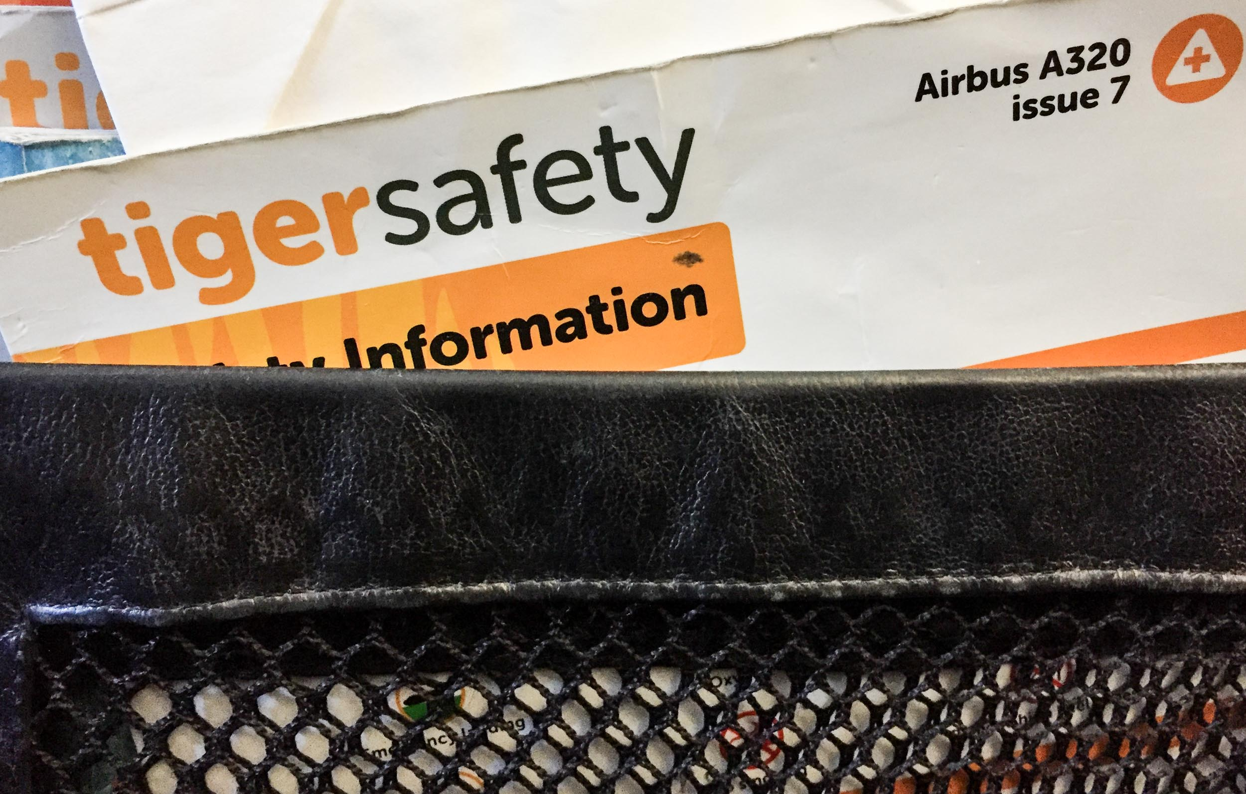 Tiger safety??!!  Surely this should have been issued in the jungles of Sumatra!