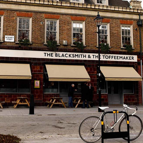 The Blacksmith & The Toffeemaker