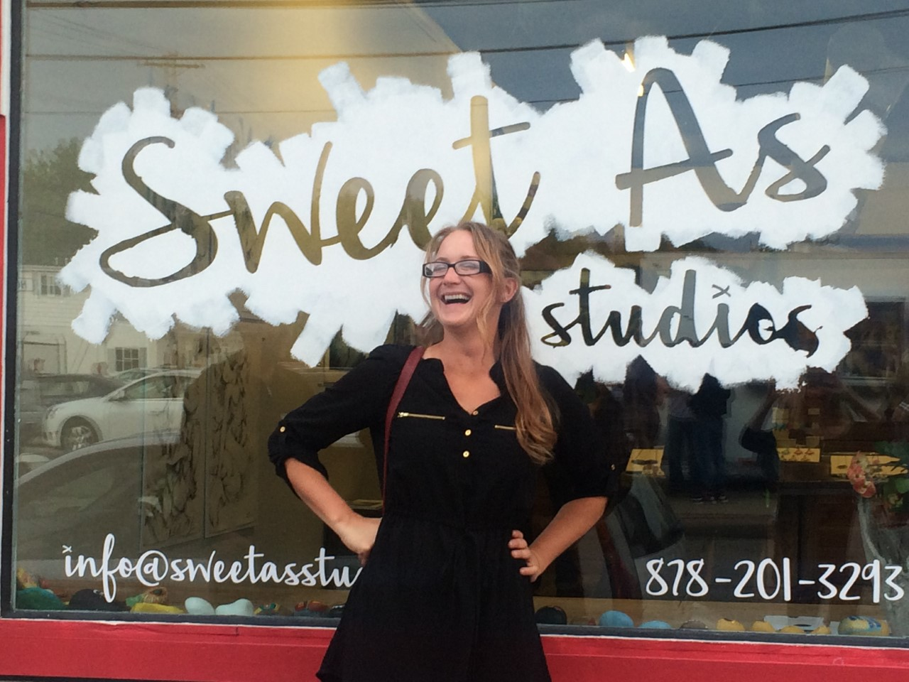 Opening at Sweet As Studios in Bridgewater PA 05-07-16