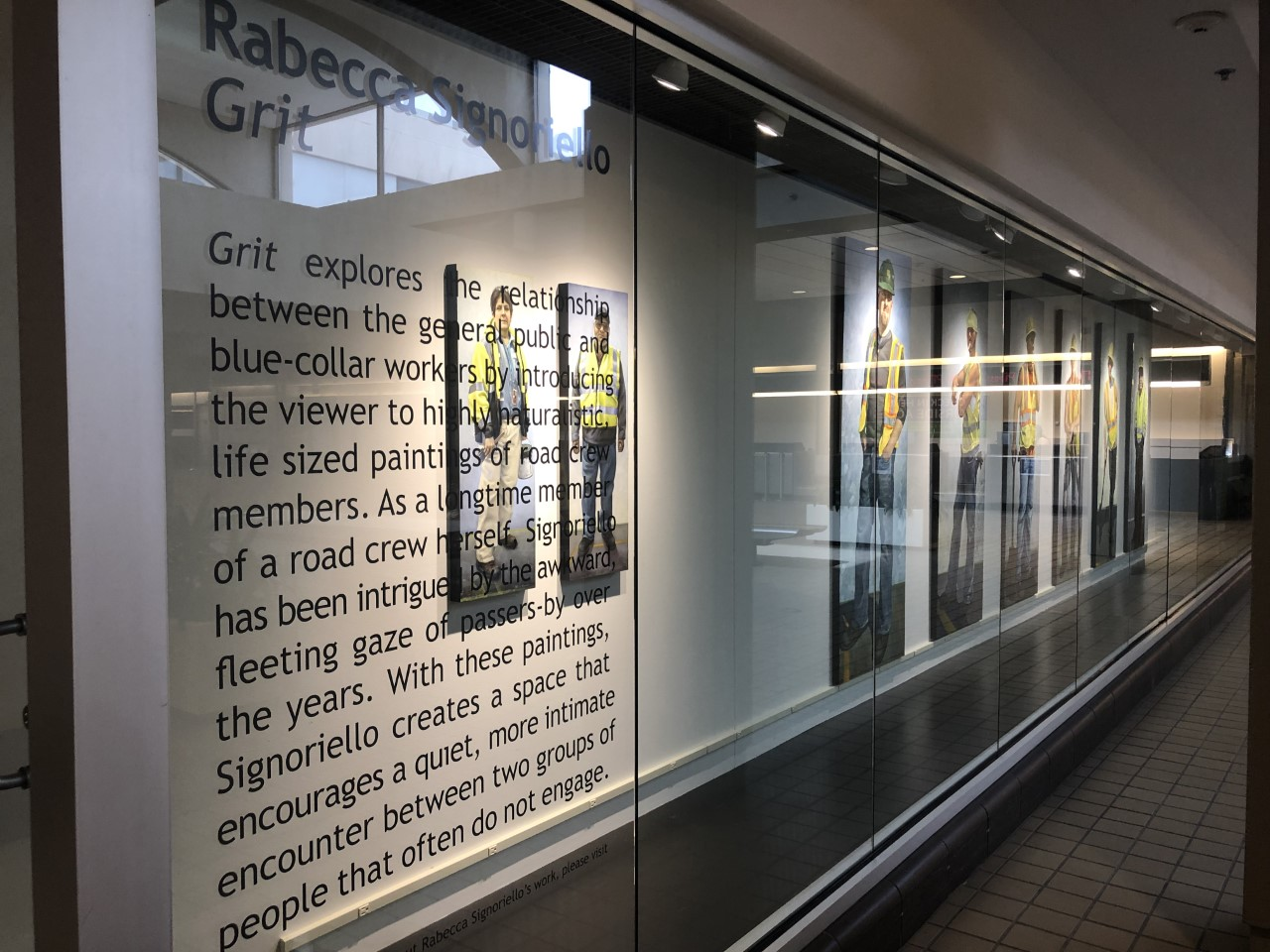 Installation of Grit at The Pittsburgh International Airport