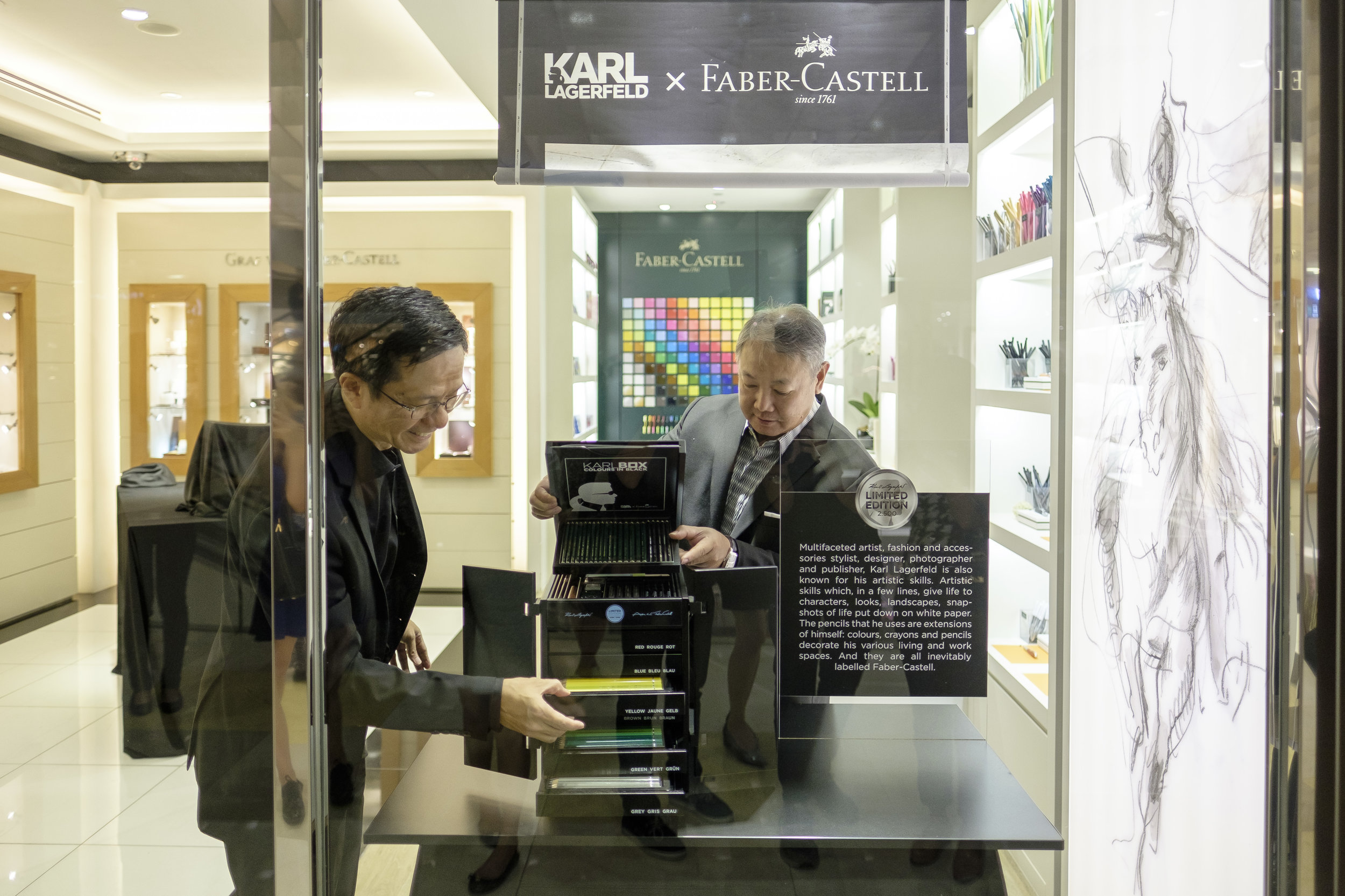 Mr Yandramin Halim, managing director of Faber-Castell Singapore, unveiled the Karlbox.