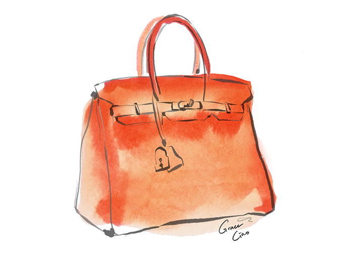 "- The queen of all classic IT bags. Who hasn't heard of the Birkin? Not only is it coveted for being the ""perfect carryall"", this bag also has an extremely enviable resale value. In short, this is every girl's best (armcandy) friend."