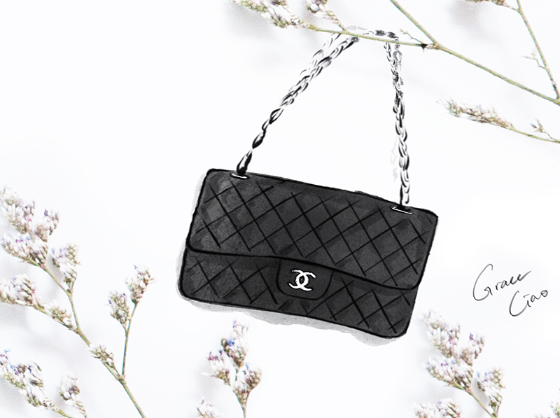 - Not only was Mademoiselle's original design an instant iconic hit, Karl Lagerfeld's reissue also proved to be immensely popular. Owning a 2.55 is probably as close as we can get to the essence of Coco Chanel herself. Illustrated here is the classic flap bag in medium.