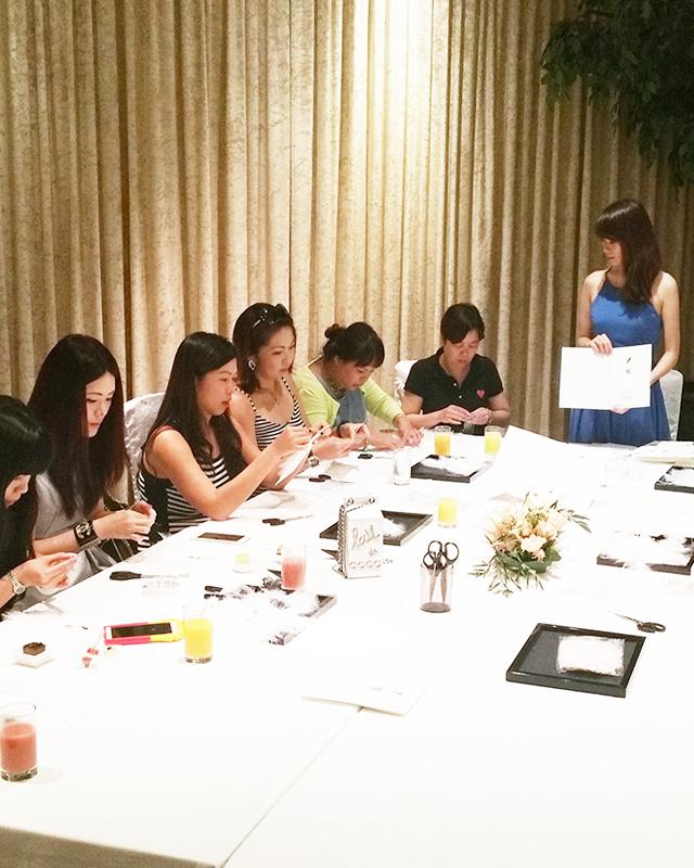 Creative art-making workshop for Plume De CHANEL - Customer VIP