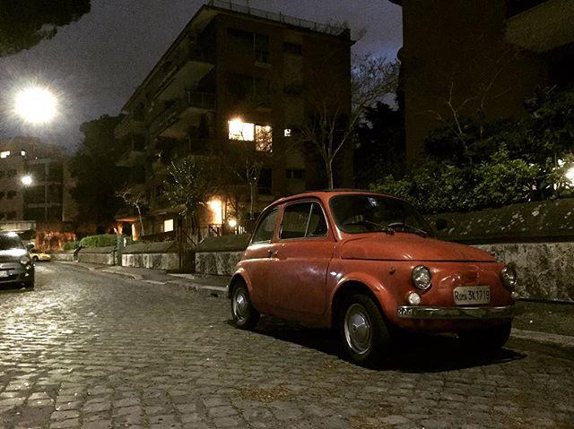 #roma #belleza #fiat500