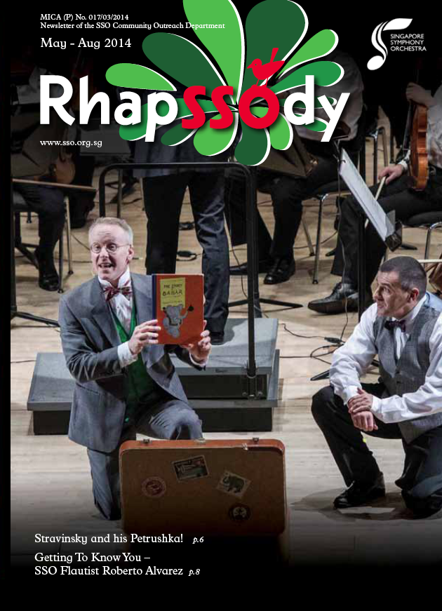 Singapore Symphony Orchestra (2014) THE STOR OF BABAR Michael & Antony