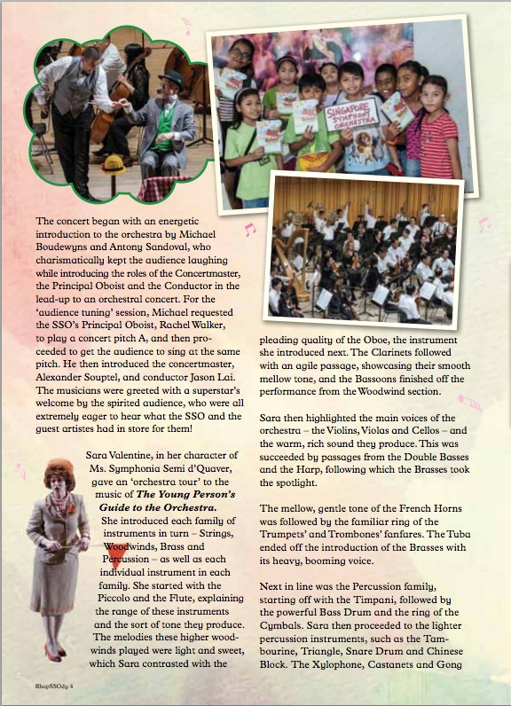 Singapore Symphony Orchestra (2014)   THE STOR OF BABAR YOUNG PERSON'S GUIDE TO THE ORCHESTRA