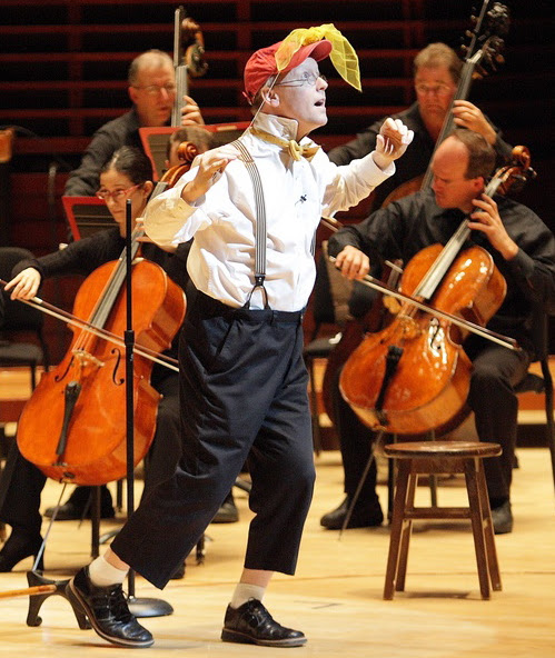 Philadelphia Orchestra (2007)  PETER AND THE WOLF Michael Boudewyns,featured performer