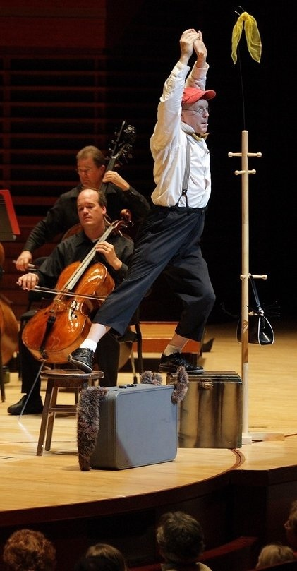 Philadelphia Orchestra (2007)   PETER AND THE WOLF   Michael Boudewyns,  featured performer