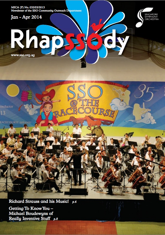 Singapore Symphony Orchestra (2014)   THE STOR OF BABAR YOUNG PERSON'S GUIDE TO ORCH.