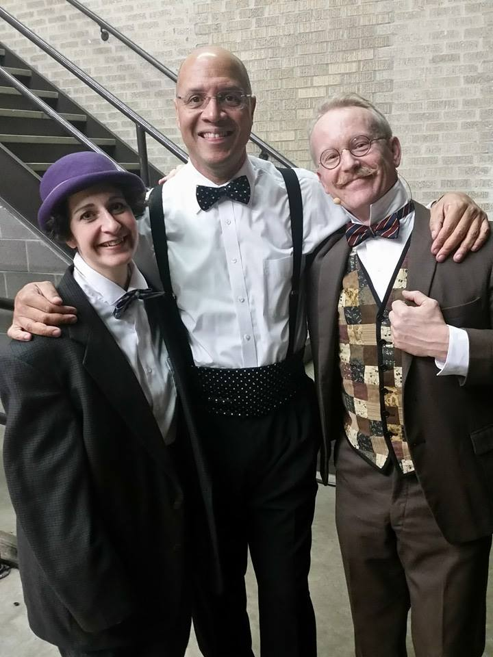 Symphony of Southeast Texas(2015)   PETER AND THE WOLF Sara &Michael with Maestro Chelsea Tipton II