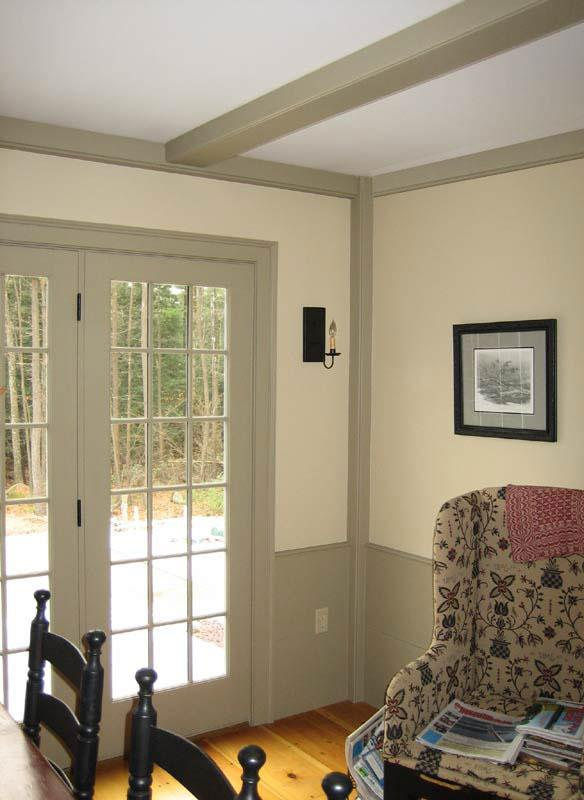 Classic Colonial Homes Interior Beam Detail