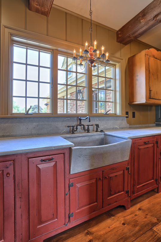 Classic Colonial Homes Interior Farmhouse sink
