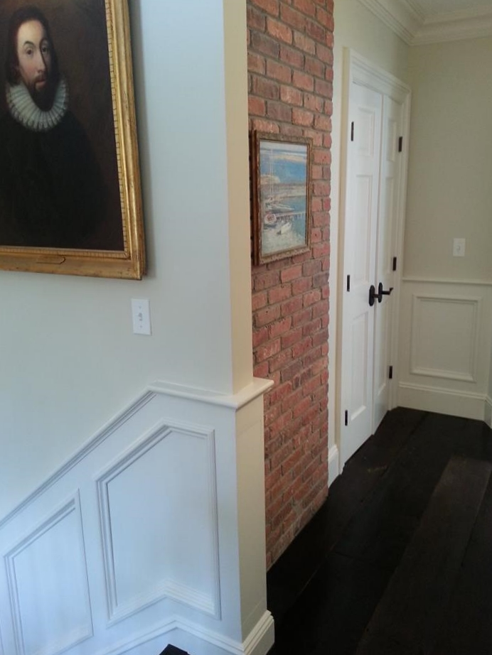 Classic Colonial Homes Interior Stair Landing