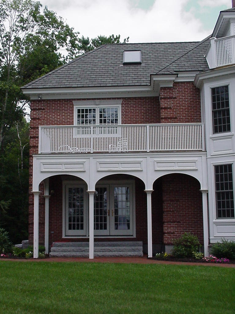 Classic Colonial Homes Federal Colonnade