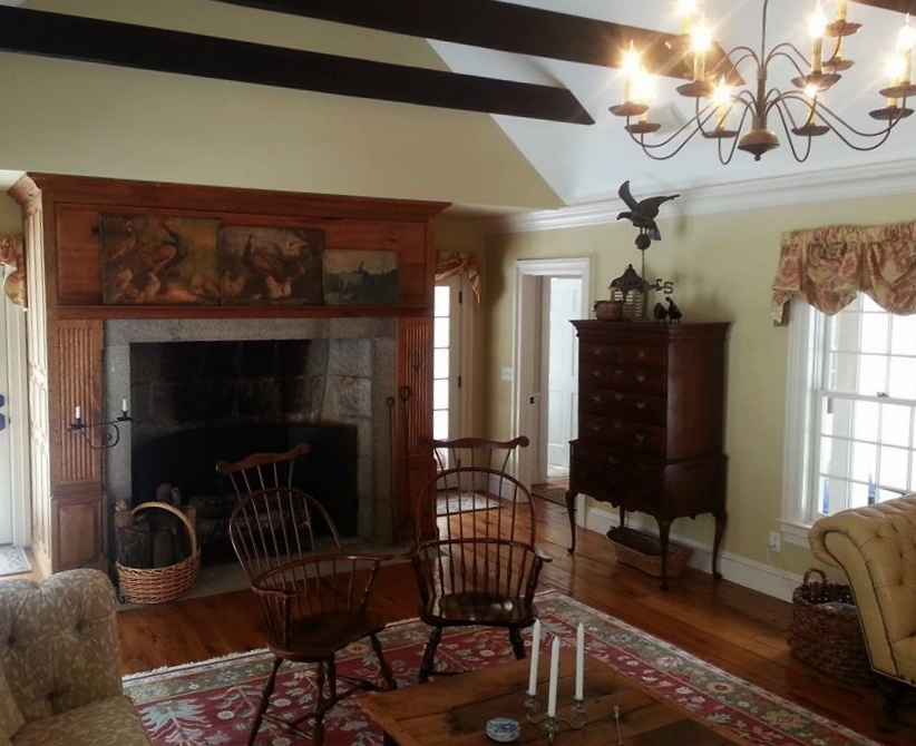 Classic Colonial Homes Interior Living Room