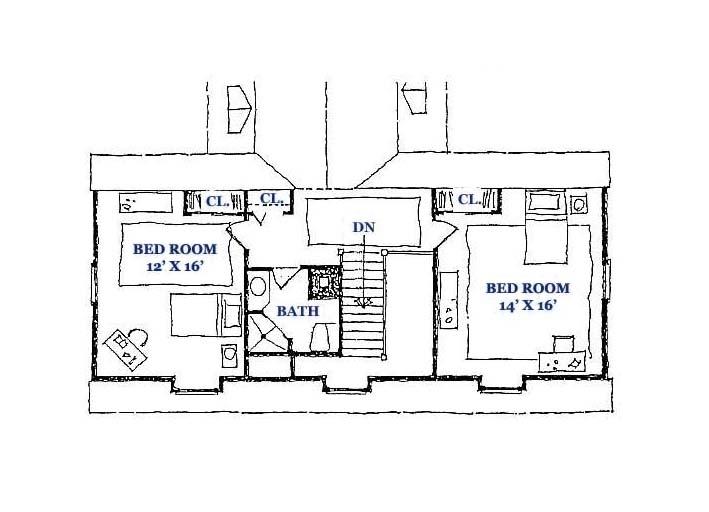 Springfield Gambrel Third Floor